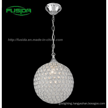 New Design Modern One Light Crystal Pendant Light